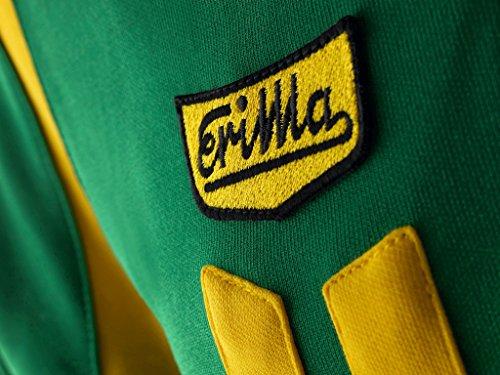 erima Erwachsene Jacke Retro Jacket Smaragd/Gelb