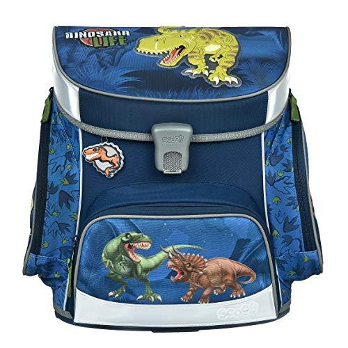 """Dinosaurier Schulranzen Set Ergo Style T-Rex World """"Raptor"""" 9tlg. Dose/Flasche Sporttasche Schultüte 85cm 30558 - 2"""