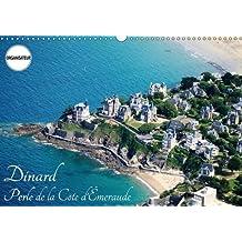 Dinard perle de la Côte d'Emeraude : Visite de la station balnéaire de Dinard. Calendrier mural A3 horizontal