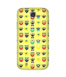 Beard-Colour-9 Samsung Galaxy S4 Case