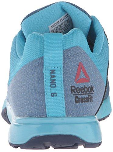 Reebok-Womens-Crossfit-Nano-6-0-Cross-Trainer-Shoe-SlateCrisp-BlueLemon-ZestBlue-InkPewter-8-M-US