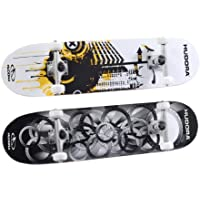 Hudora 12545 Freak 3.0 ABEC 5 Skateboard 100% Legno d'Acero Canadese, modelli assortiti