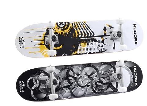 HUDORA Skateboard Freak 3.0 ABEC 5 100% kanadisches Ahornholz, farblich sortiert, 12545