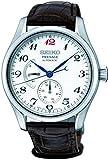Seiko Herren-Armbanduhr 40mm Armband Leder Braun Automatik Analog SPB059J1