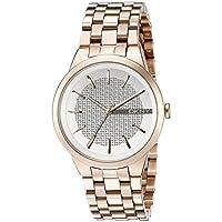 DKNY NY2383 - Reloj de Cuarzo con Correa de Acero Inoxidable para Mujer, Color Rosa de DKNY
