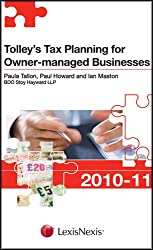 Tolley's Tax Planning for Owner-Managed Businesses 2010-11