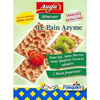 Auga - Matzo-Brot, Extra Dünne Scheiben, Frische-Sachets - Die 3 Packungen Von 200G - Preis Pro Einheit - Schnelle Lieferung