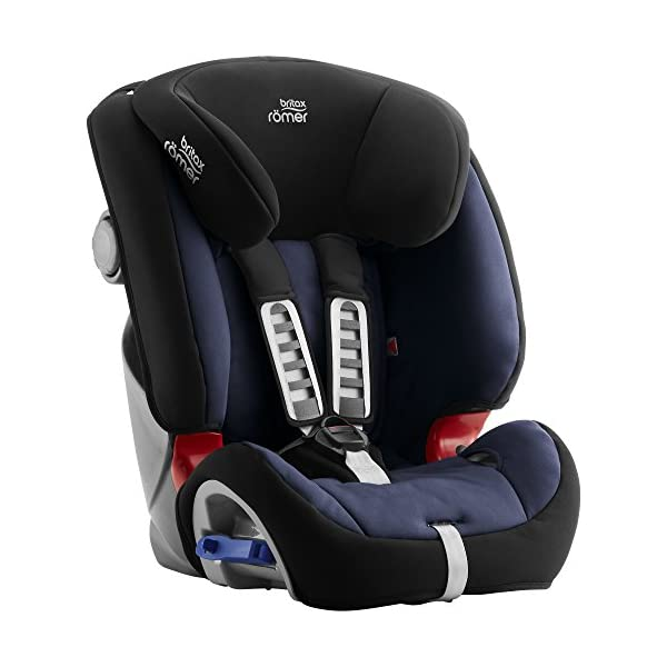 Britax Römer MULTI-TECH III Car Seat (9 Months-6 Years  9-25 kg), Moonlight Blue  Advanced side impact protection - the SICT feature offers superior protection to your child in the event of a side collision Extended rearward facing - rearward facing car seats offer the best protection in the event of a frontal collision - the most frequent type of accident on the roads Deep, protective side wings - the soft, padded side wings act as a protective cocoon that helps to absorb the force from a side impact, reducing the risk of injuries to your child 3