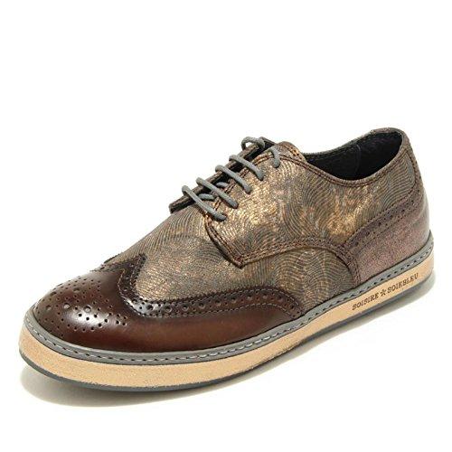 3370G scarpa donna marrone SOISIRE SOIEBLEU DAFF 03 calzatura shoes women Marrone