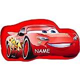 alles-meine.de GmbH Plüsch Kissen / Schmusekissen / Sitzkissen -  Disney Cars - Lightning McQueen..