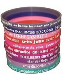 Caroline Lisfranc - Bracelet Silicone Femme Sexy