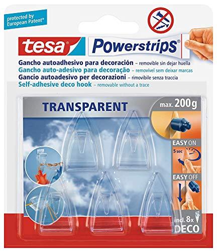 tesa Powerstrips DecoHaken transparent