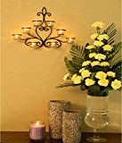 #6: Hosley 8 Cup Wall Sconce with Free Tealights