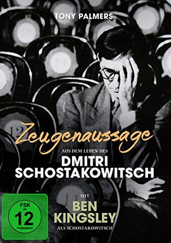 Zeugenaussage - Aus dem Leben des Dmitri Schostakowitsch