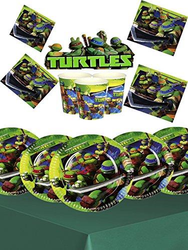 Teenage Mutant Ninja Turtles Kinder Geburtstag Party-Set für 16