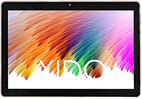 "XIDO Z120/3G, Tablet Pc 10 Zoll, (10.1""), 2GB RAM, PS Display 1280x800, 3G Dual Sim, Android 5.1 Lollipop, 32GB Speicher, Quad Core, Computer Wlan (Schwarz)"