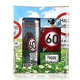 Lustapotheke® Geschenkset zum 60. Geburtstag (Duschgel und Handseife)