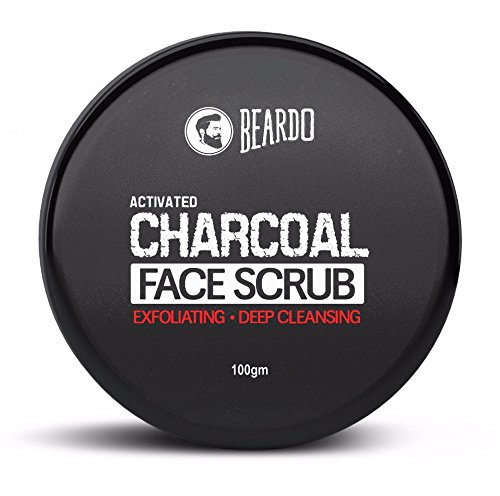 Beardo-Activated-Charcoal-Deep-Cleansing-Face-Scrub-100g