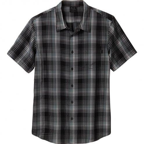 OAKLEY YOGUES WOVEN-CAMICIA DA UOMO, COLORE: NERO multicolore (Oakley Woven Shirt)