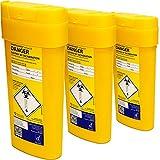 Qualicare Sharps Safe ago siringhe insulina chirurgia smaltimento rifiuti Bin box–0.6litri, confezione tripla