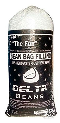 Delta bean bags Fillers Quality Bean Bag Refill 0.5kg (White)