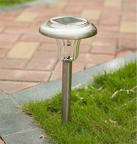 HomJo Solar LED Garden Spotlight 111V ~ 240V Solar Lichter im Freien Rasen Lampe Gras Lampe wasserdicht, um die Landschaft Garten Lichter Straße Außenleuchten zu stecken , 2