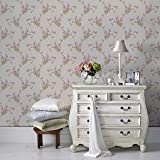 Cheapest SALE Superfresco Jocelyn Vintage Floral Wallpaper Was £15 Now £5 on