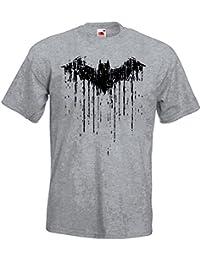 TRVPPY Herren T-Shirt Modell Vintage Batman 2 in Verschiedenen Farben, Gr. S-5XL