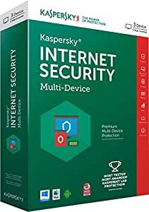 Kaspersky Internet Security Multi-Device - 3 Users, 1 Year (CD) (Chance to win Rs.1000 Amazon Gift voucher)