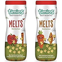 Timios Mix Flavours Melts Healthy & Natural Energy Food Product For Children 9+ Months - Pack Of 2