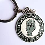 Metal Enamel Keyring Lambretta Vespa Northern Soul for sale  Delivered anywhere in UK