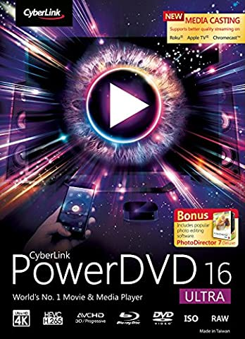 CyberLink PowerDVD 16 Ultra [Téléchargement]