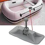 2PC Ruder Lock Patch grau schwarz für aufblasbare Boot Raft bootsklasse, grau