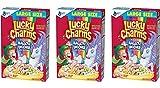 Céréales Lucky Charms - Lot de 3 Paquets de 422 g