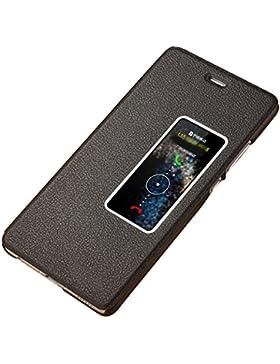 Huawei P9 Custodia, JEPER Pu Pelle Portafoglio Bookstyle Flip Cover Stand Case con chiusa Magnetica Protettiva...