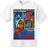 Photo de John Carpenter - THEY LIVE - Retro Movie poster t shirt (S-3XL) Huge High Quality par DPX-1