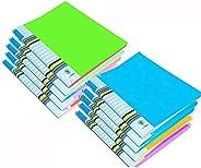 GreatDio Multicolored A4 Folder Case Presentation Line Transparent Report File Document File/Presentation File