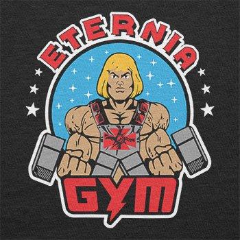 Texlab–Eternia Gym–sacchetto di stoffa Nero