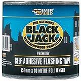 Everbuild EVBFLAS150 150 mm x 10 m Black Jack Flash Trade Fixing Glue by Everbuild