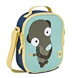 Lässig Lässig Kühltasche Mini Lunch Bag, Wildlife Erdmännchen Borsa Messenger, 25 cm, Multicolore (Blau)