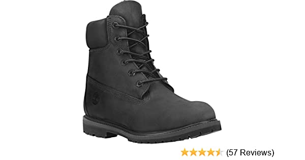 859e69905 Timberland 6 in Premium Women's Waterproof Ankle Boots, Red (Dark Red  Nubuck), 5.5 UK: Amazon.co.uk: Shoes & Bags