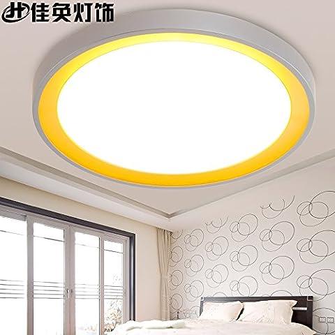 midtawer Lampade da soffittoIl LedModerno, minimalista e accogliente soggiorno camera luminosa veranda ristorante è luminoso round lampade di cristallo ornamenti