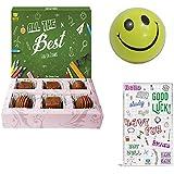 BOGATCHI Exam Day Gift, EXAM Special Dark Chocolates, EXAM Gift Hamper, Exam Wishes - All The Best, Good Lucks...
