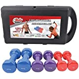 Dumbbell weight range of 10 kg by Emfil