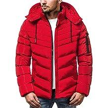 OZONEE Herren Winterjacke Parka Jacke Wärmejacke Wintermantel Coat Kapuze  Wärmemantel Modern Täglichen ... 6bd318bf94