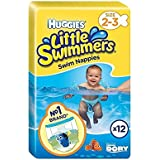 Huggies Little Swimmers Maillots Taille 2–3 Lot de 12 –