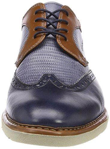 Daniel Hechter Herren 811432021111 Derbys Blau (Dark Blue/ Grey)