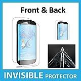 Yota YotaPhone 2 (FULL Body) Bildschirmschutz Schutzfolie Folie Unsichtbar (Front undBack enthalten) hochwertiges ACE Exklusive Schutz