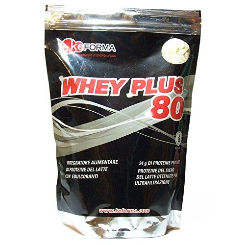 keForma Whey Plus 80 900 g MIX PROTEICO TIME RELEASE gusto Vaniglia-Cannella