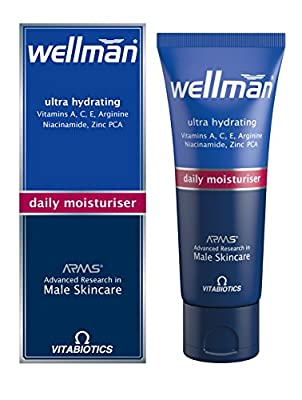 Vitabiotics Wellman Daily Moisturiser - 50 ml